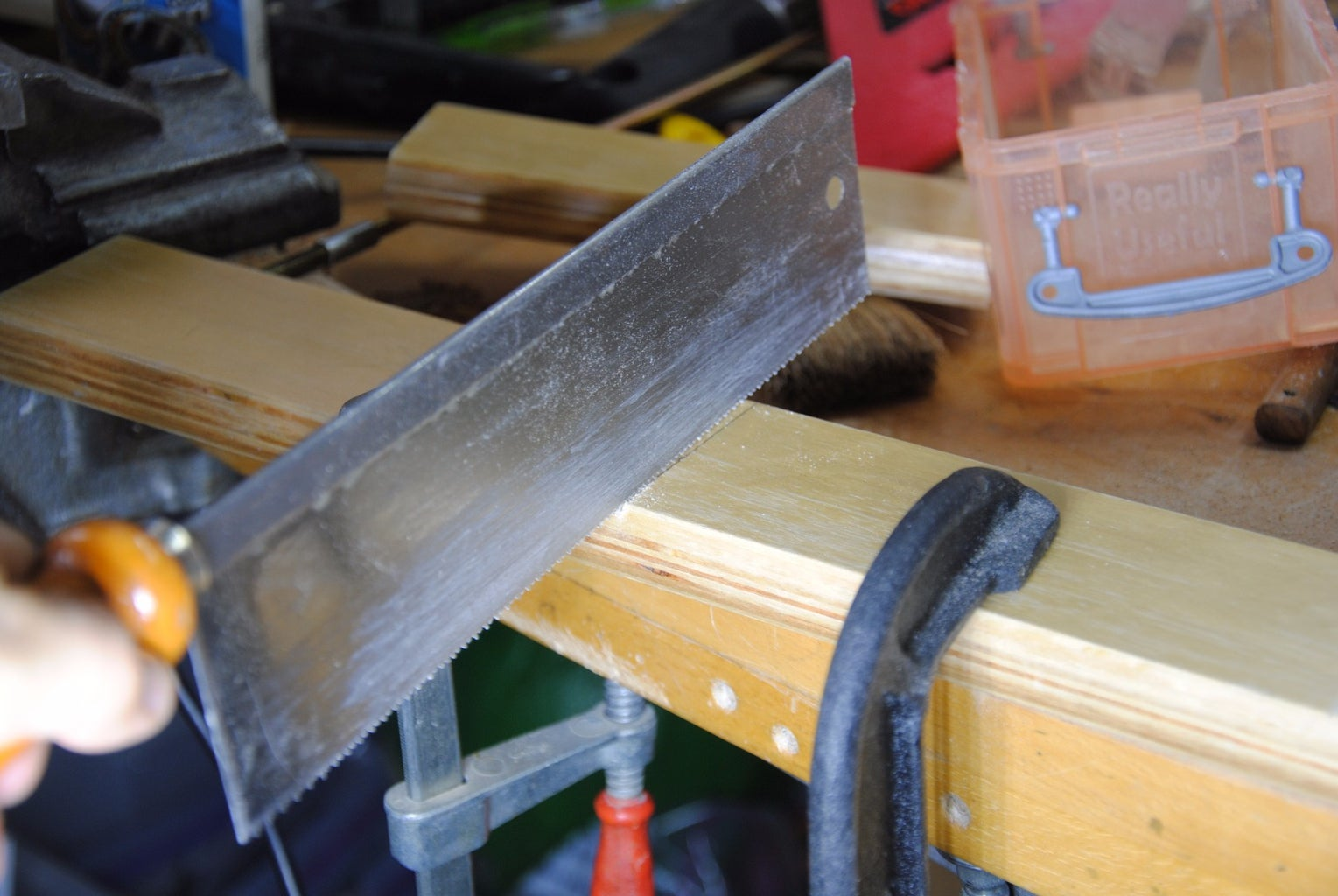 Marking & Cutting the Wood to Size