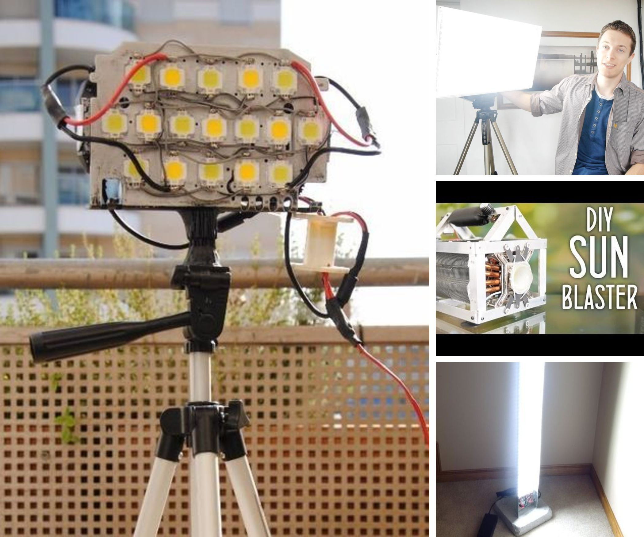 5 Awesome DIY LED Lights (For Video/Photography)