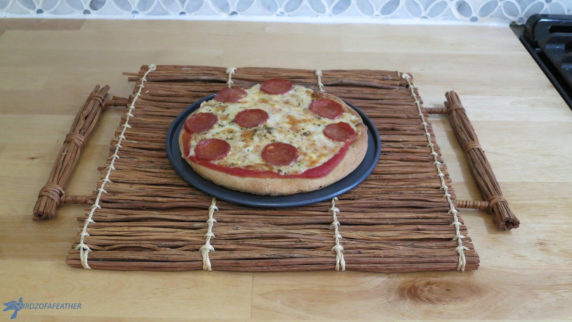 Enjoy Your Personalized Mini GF Pizzas