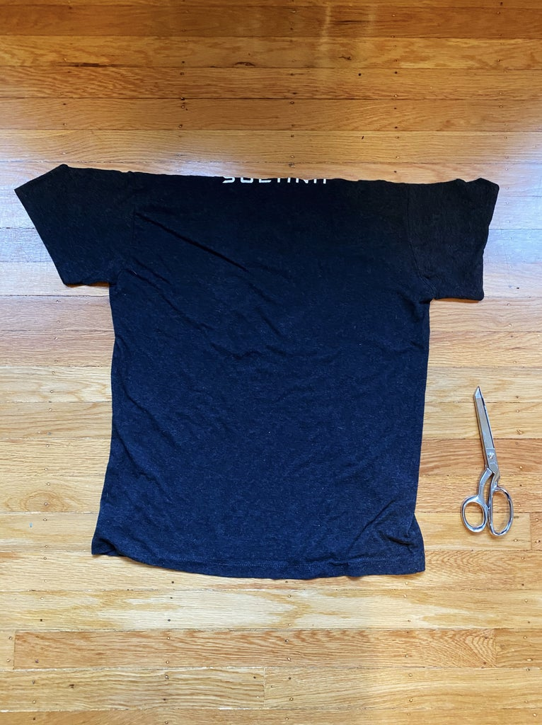 Flip the T-shirt Over to the Back Side