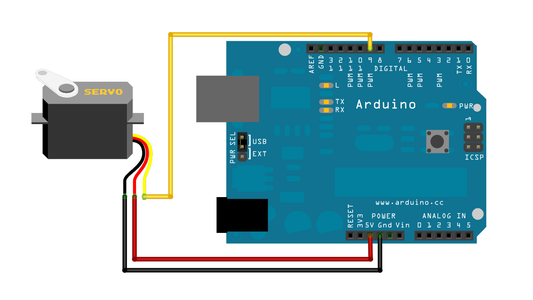 Connect the Servo Motors to Your Microcontroller