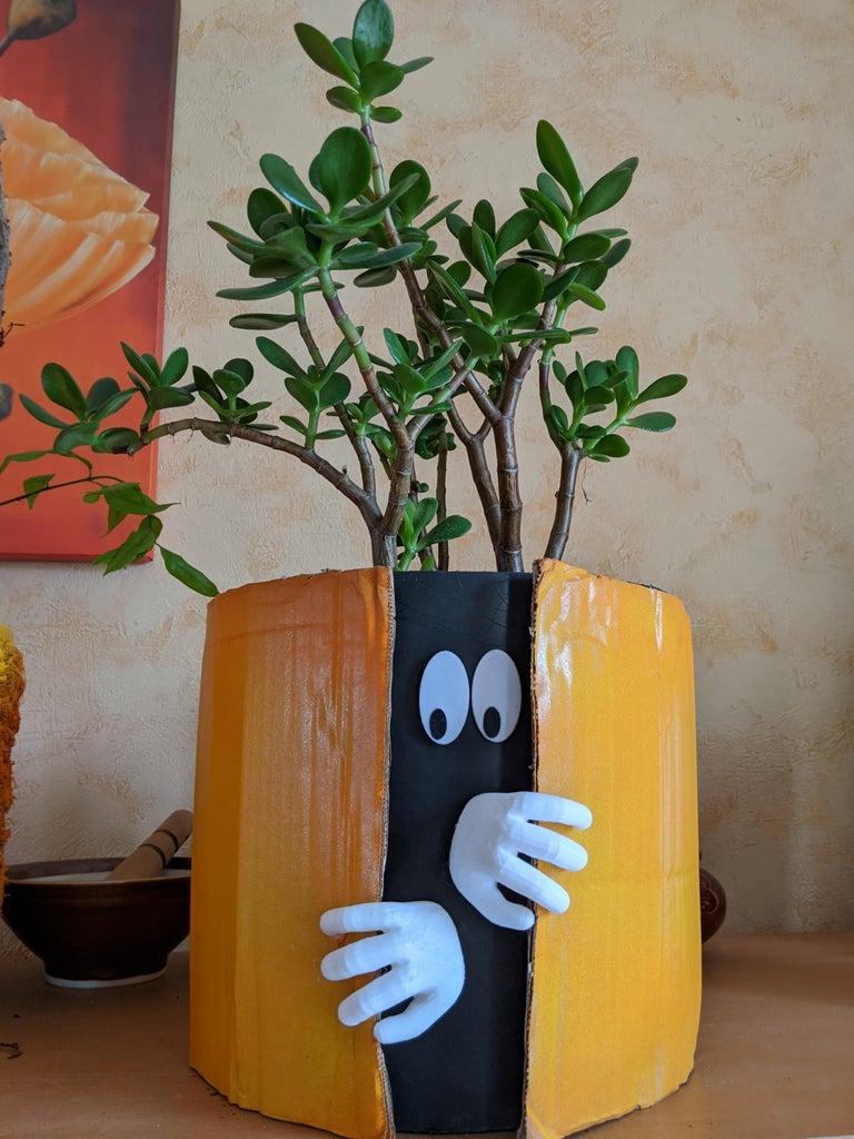 Big Planter Is Watching Us !
