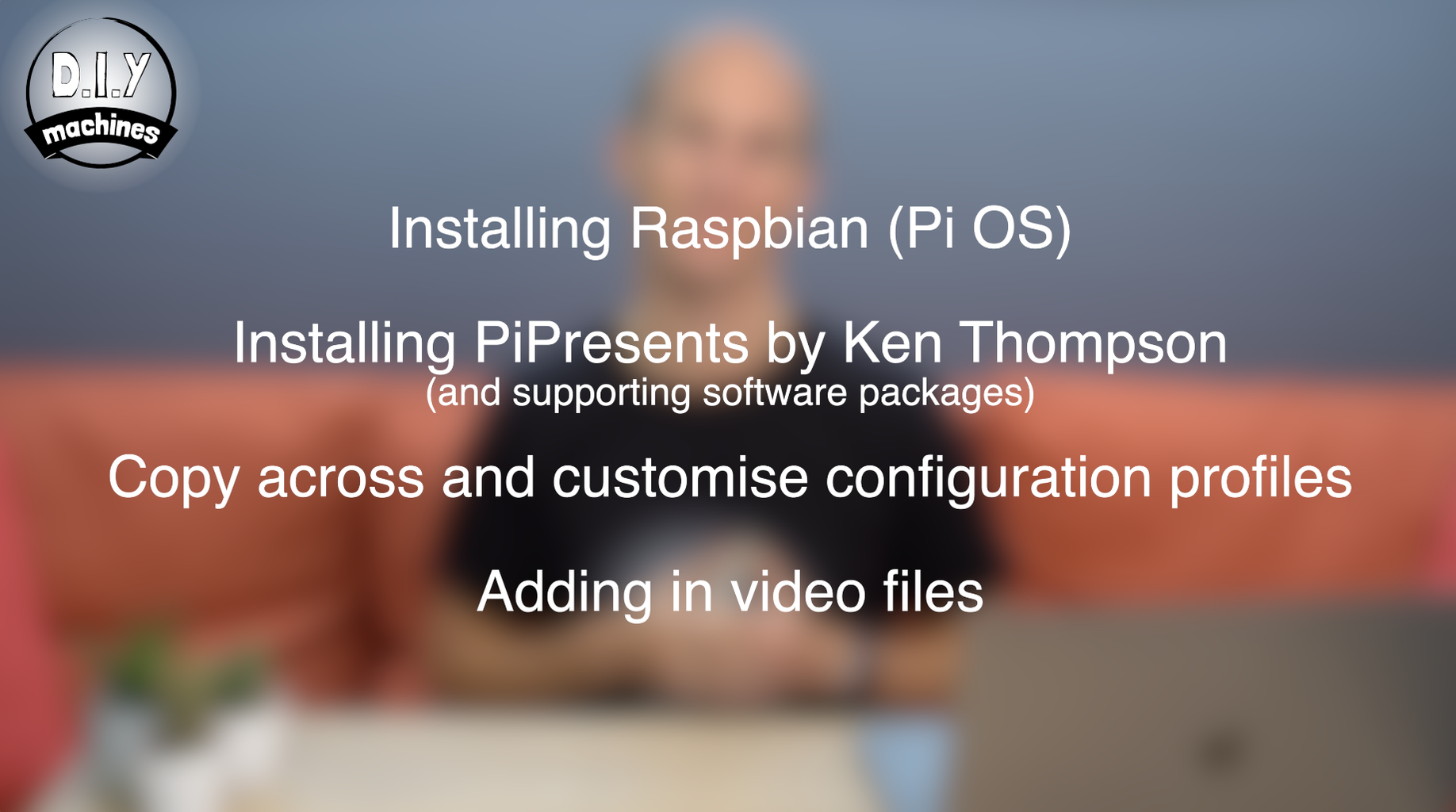 Programming Your Pi and Adding Video Clips