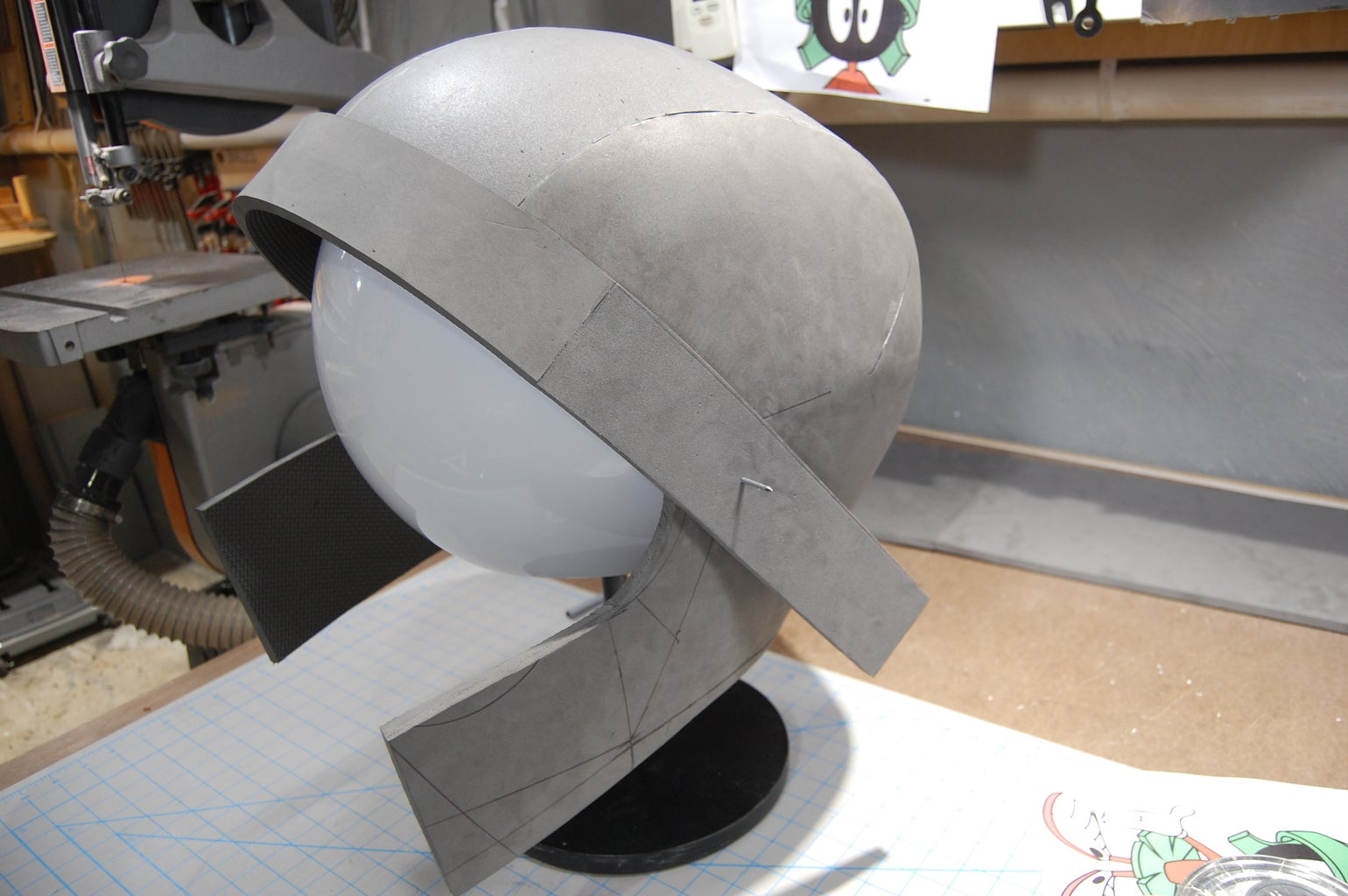 The Helmet - Marvin Modifications