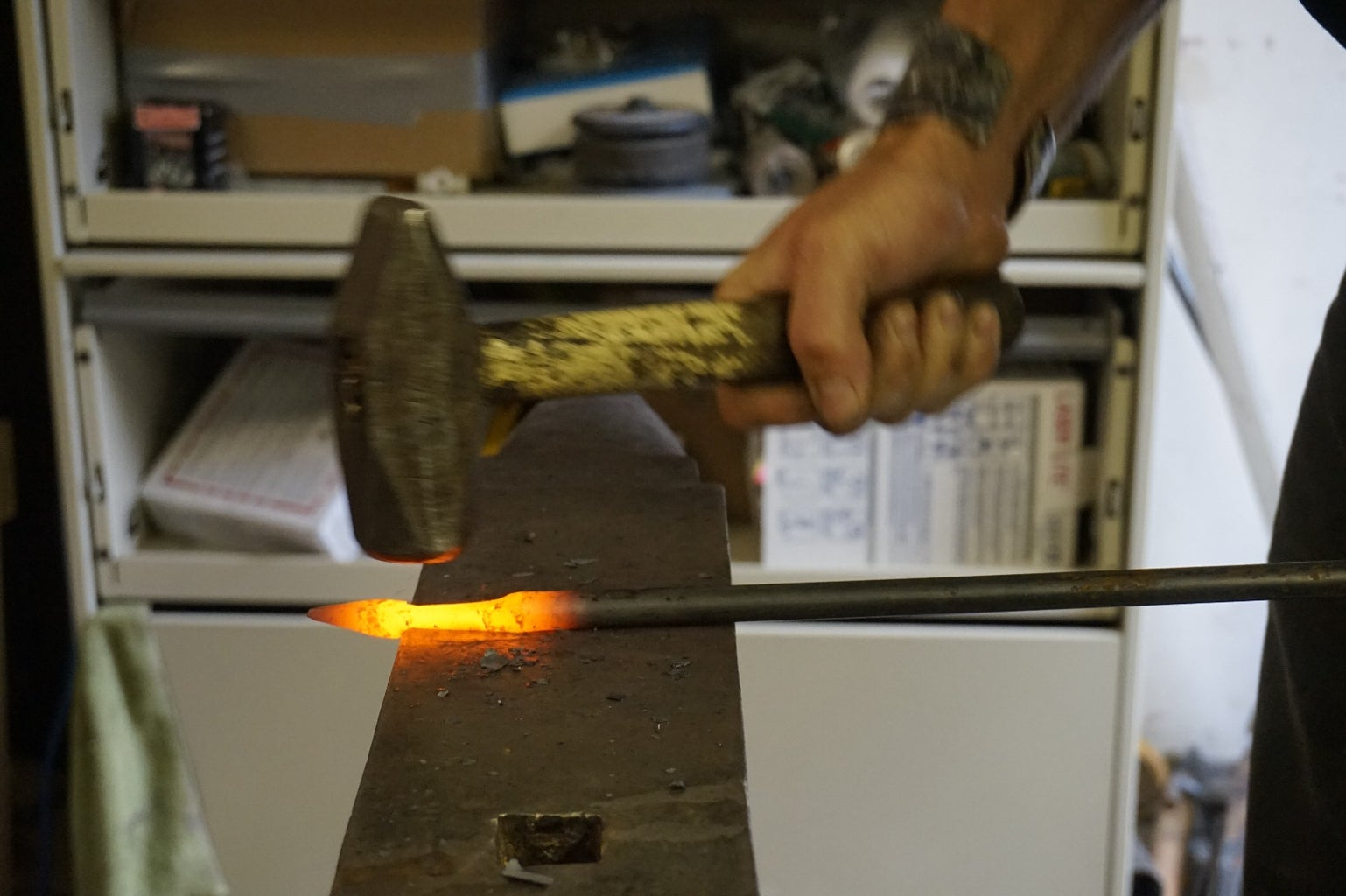 Step 3: Forge the Intersection Between Leaf and Stem