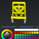 Beginners guide: 3d chairs and table on an ipad