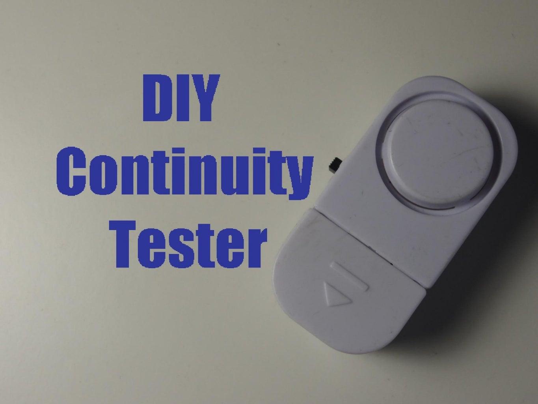 DIY  Continuity Tester