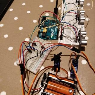 Motion Controlled Ultrasonic Lamp
