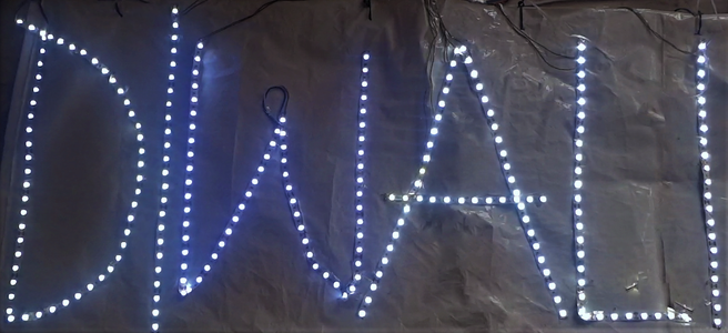Wifi Controlled LED Decoration