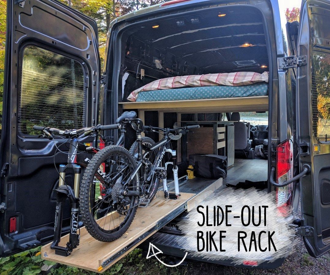 Alloy Car Interior Bicycle Rack Carrier for 2 Bikes for SUV Van Pickup Truck Bed