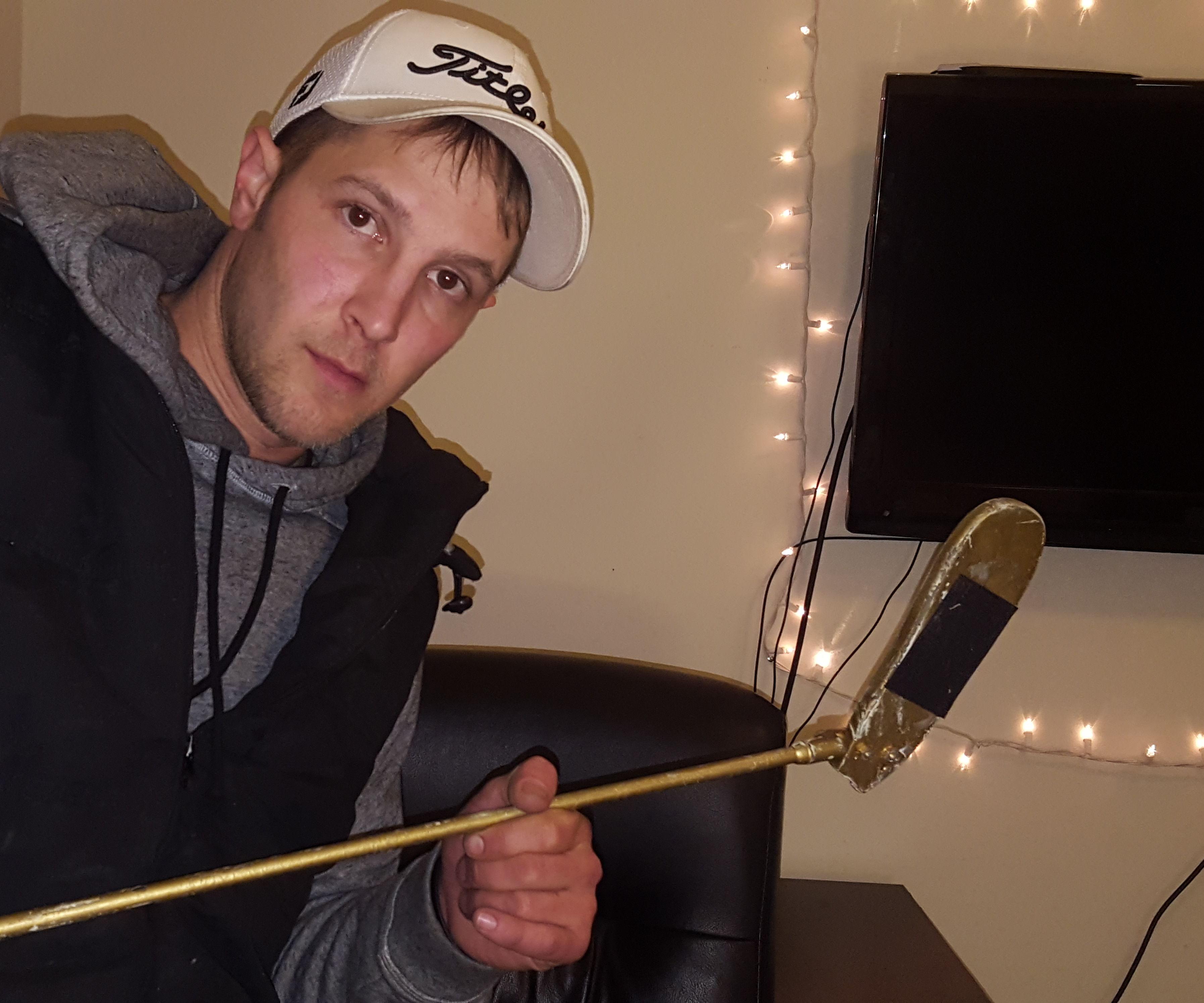 DIY Happy Gilmore Hockey Stick Putter