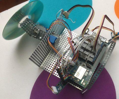 Edison Motorised Platform(Intel IoT)