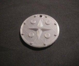 如何使用tinkercad制作护身符