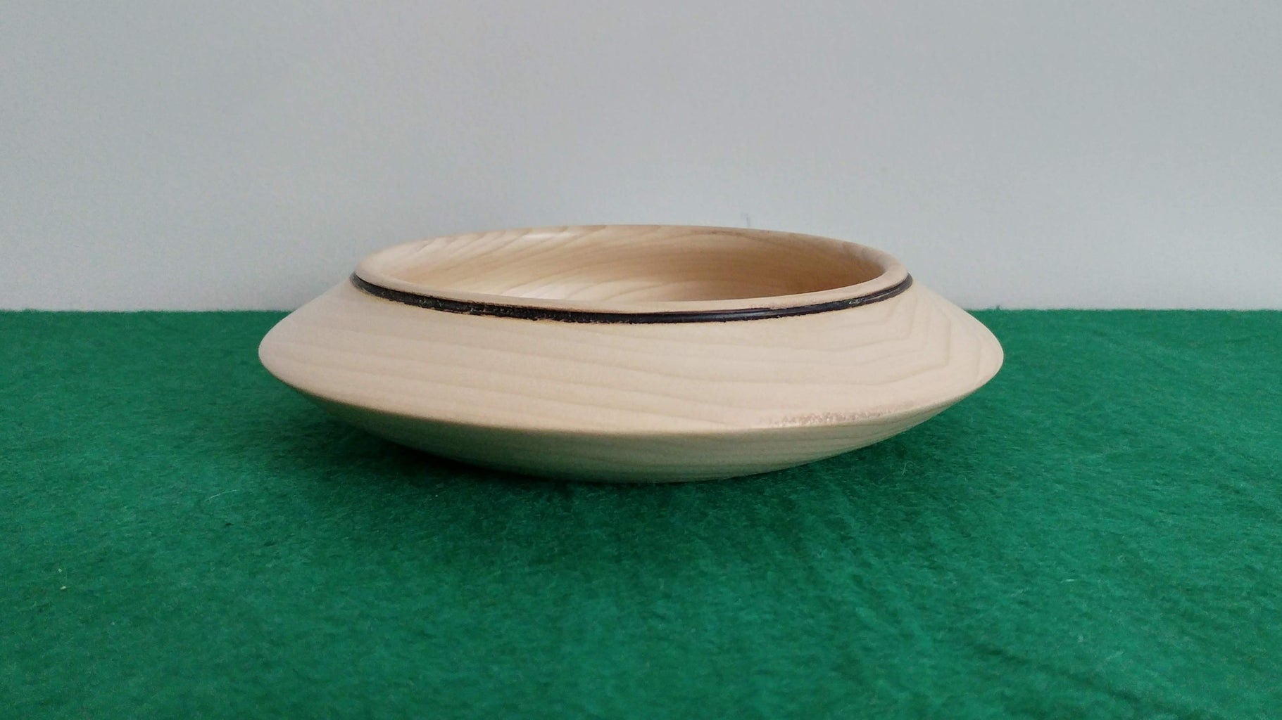 UFO Bowl From Scrap Wood Found in a Skip! by AMC77
