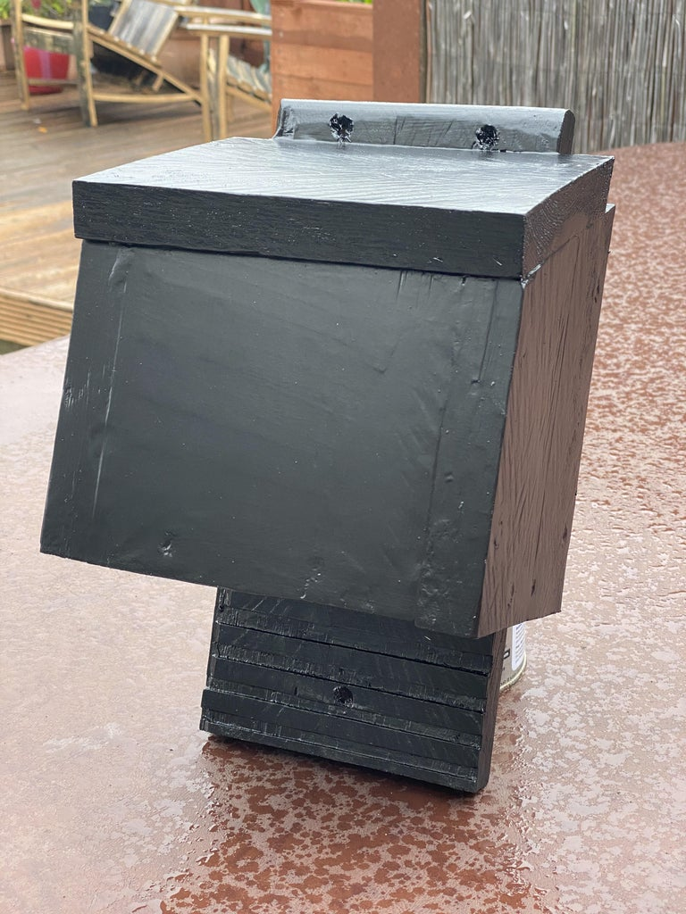 Single Plank Bat Box