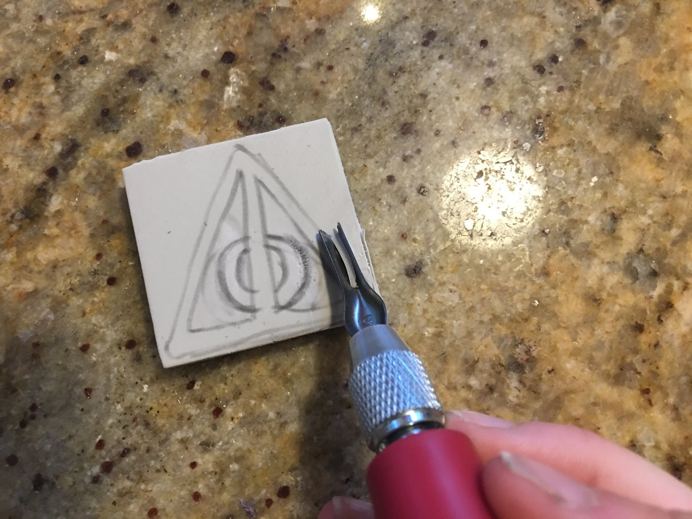 Carving Your Stamp