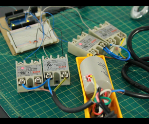 How to Hack an Electric Hoist (AC Motor)