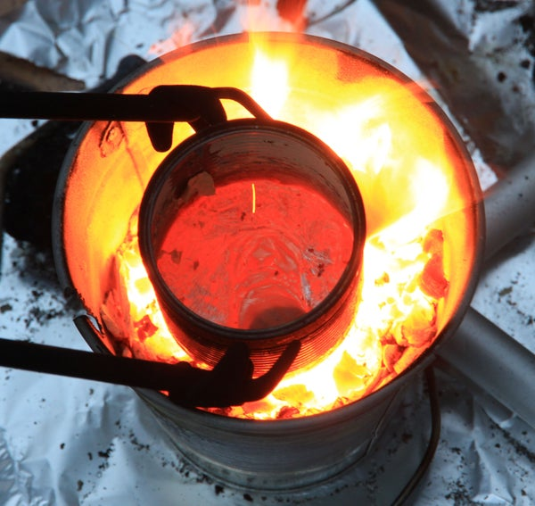 How to Make a Blacksmiths Forge