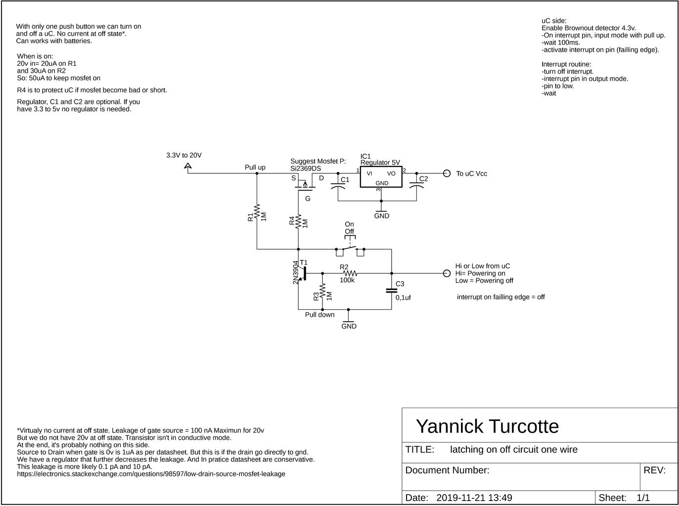 Schematic Explanation