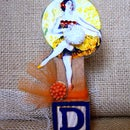 Mixed Media Assemblage - Dancing Queen