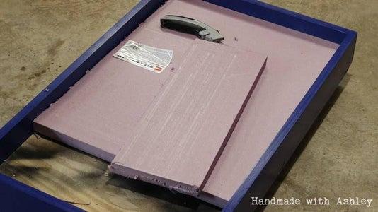 Cut the Insulation Foam