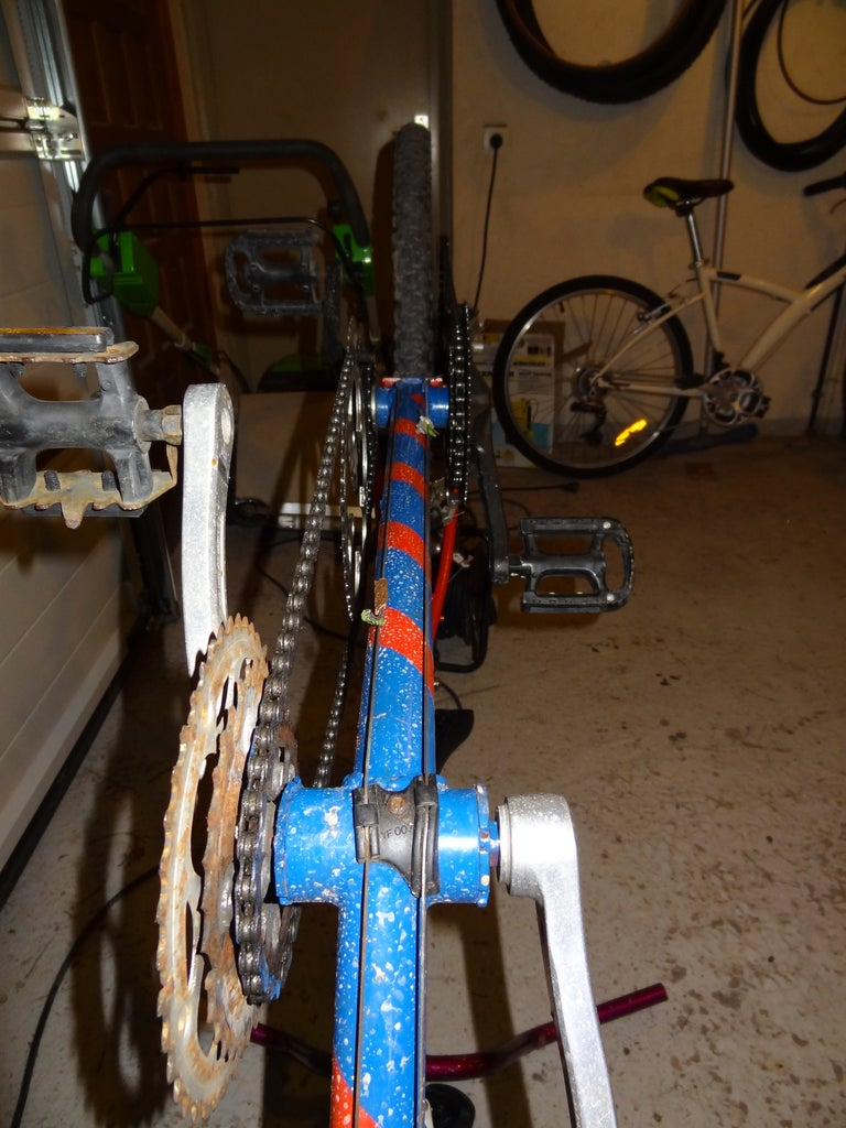 Putting Everthing Back on Plus the Special Tandem Stuff. (1)