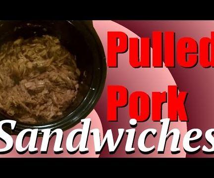 Dr Pepper Pulled Pork Sandwiches