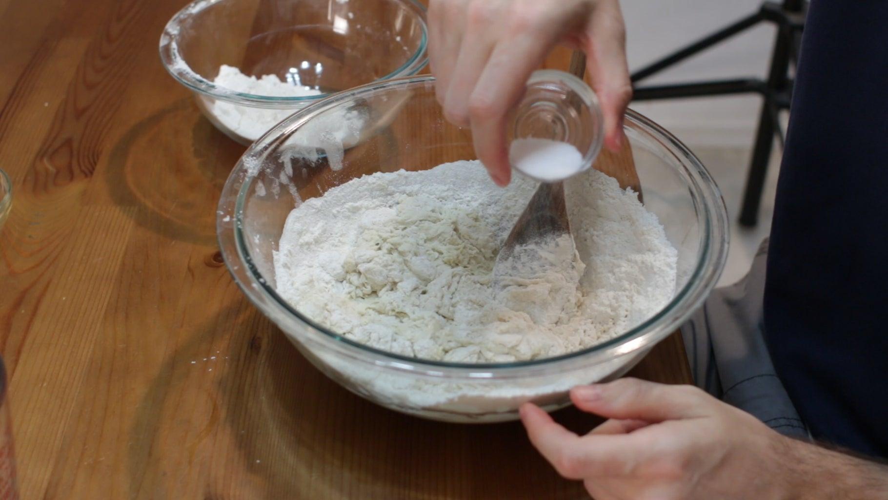 Oil, Flour, Salt