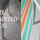 DIY: Painted Rug