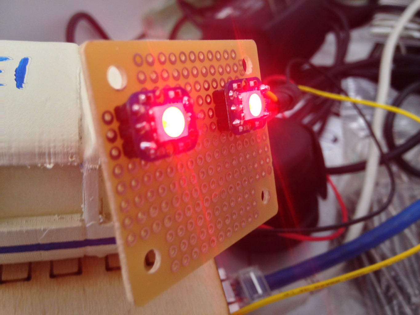 Solder Neo Pixels Together and to PCB Board