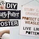 Harry Potter Poster DIY
