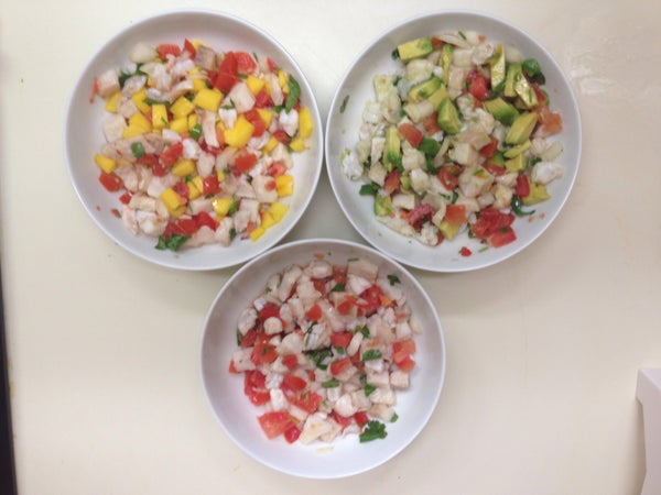 3 Simple Ceviches