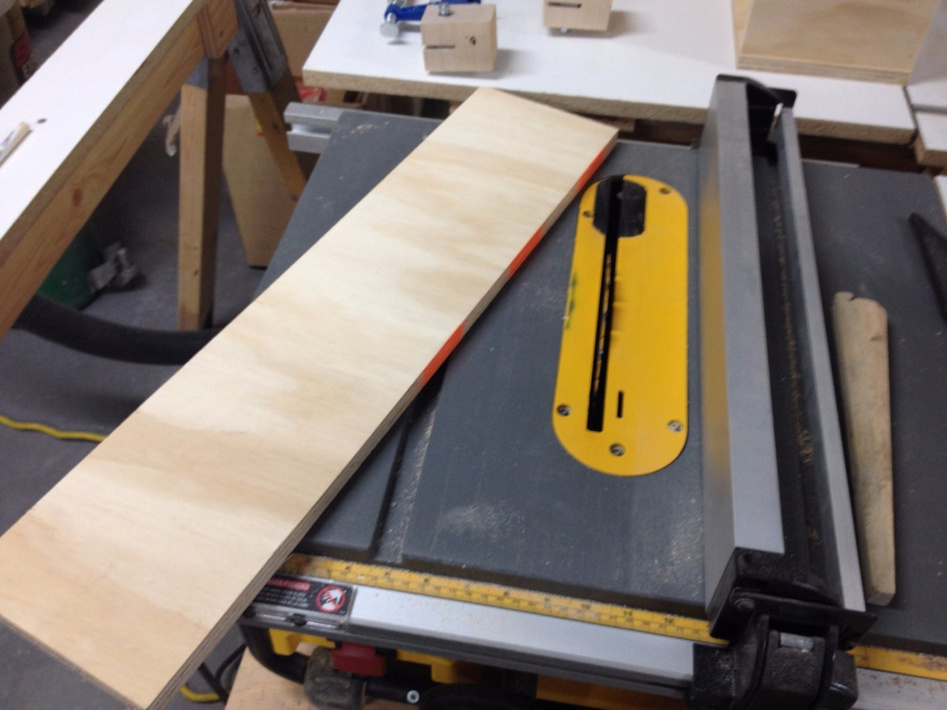 Cut the Plywood Strips