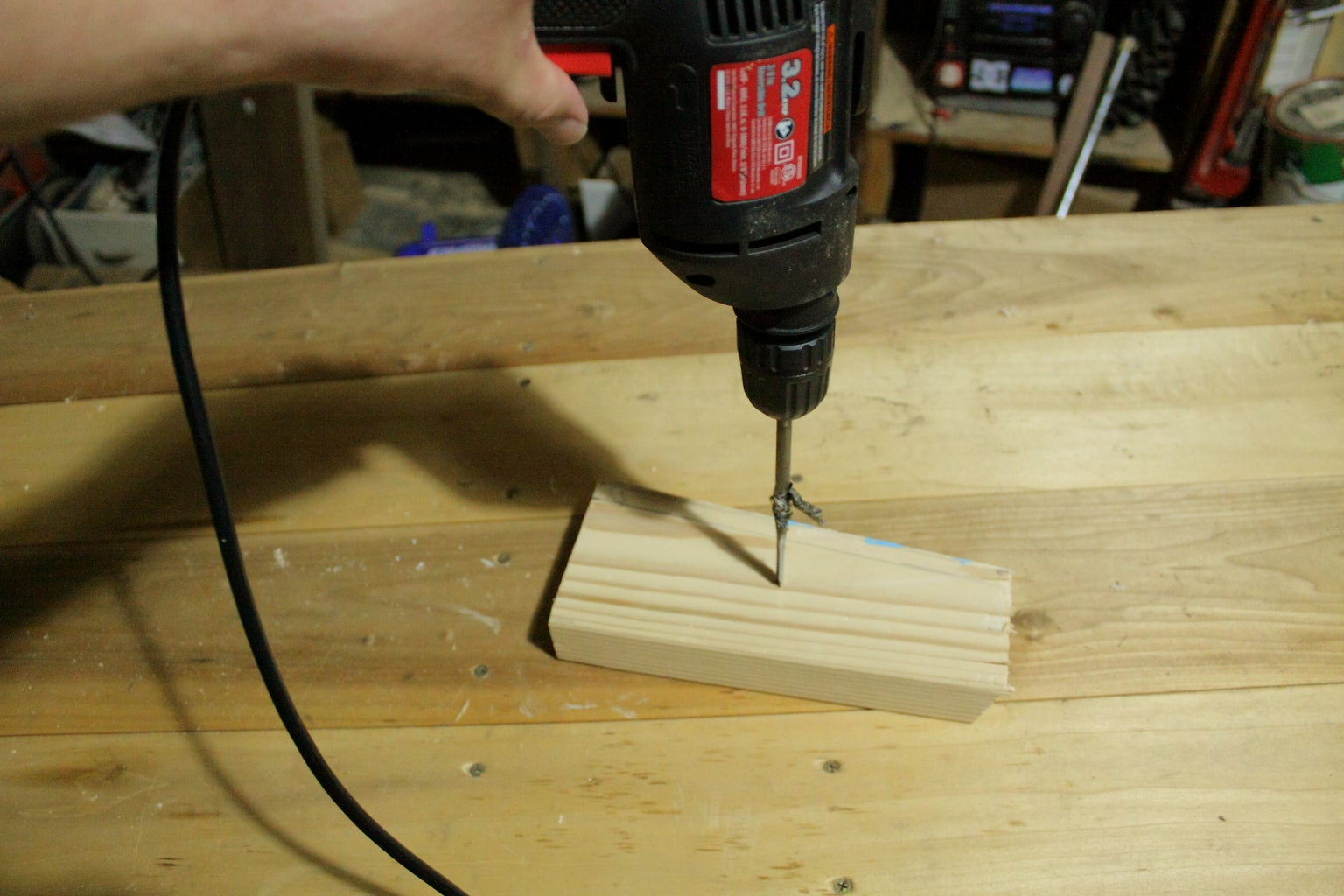 Pocket Screws Without a Jig