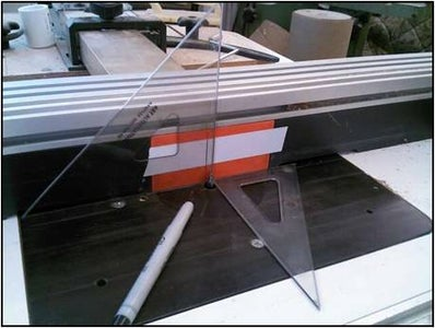 Router Table Setup for Cutting the Inlay Grooves