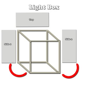 Light Box Finishing Up