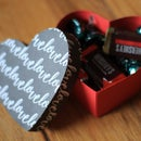 Paper Heart Shaped Gift Box