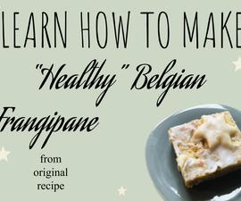 "Delicious ""healthy"" Belgian Frangipane!"