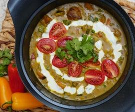 One Pot Vegan Coconut Curry