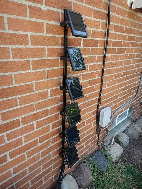 Solar Electric Bike Charger