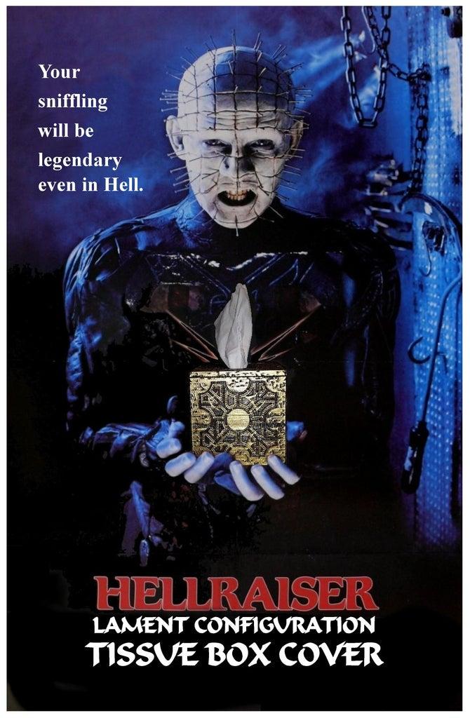 HELLRAISER LAMENT CONFIGURATION TISSUE BOX COVER