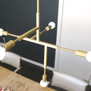 How to Make a Pair of Modern Brass Pendant Lamps