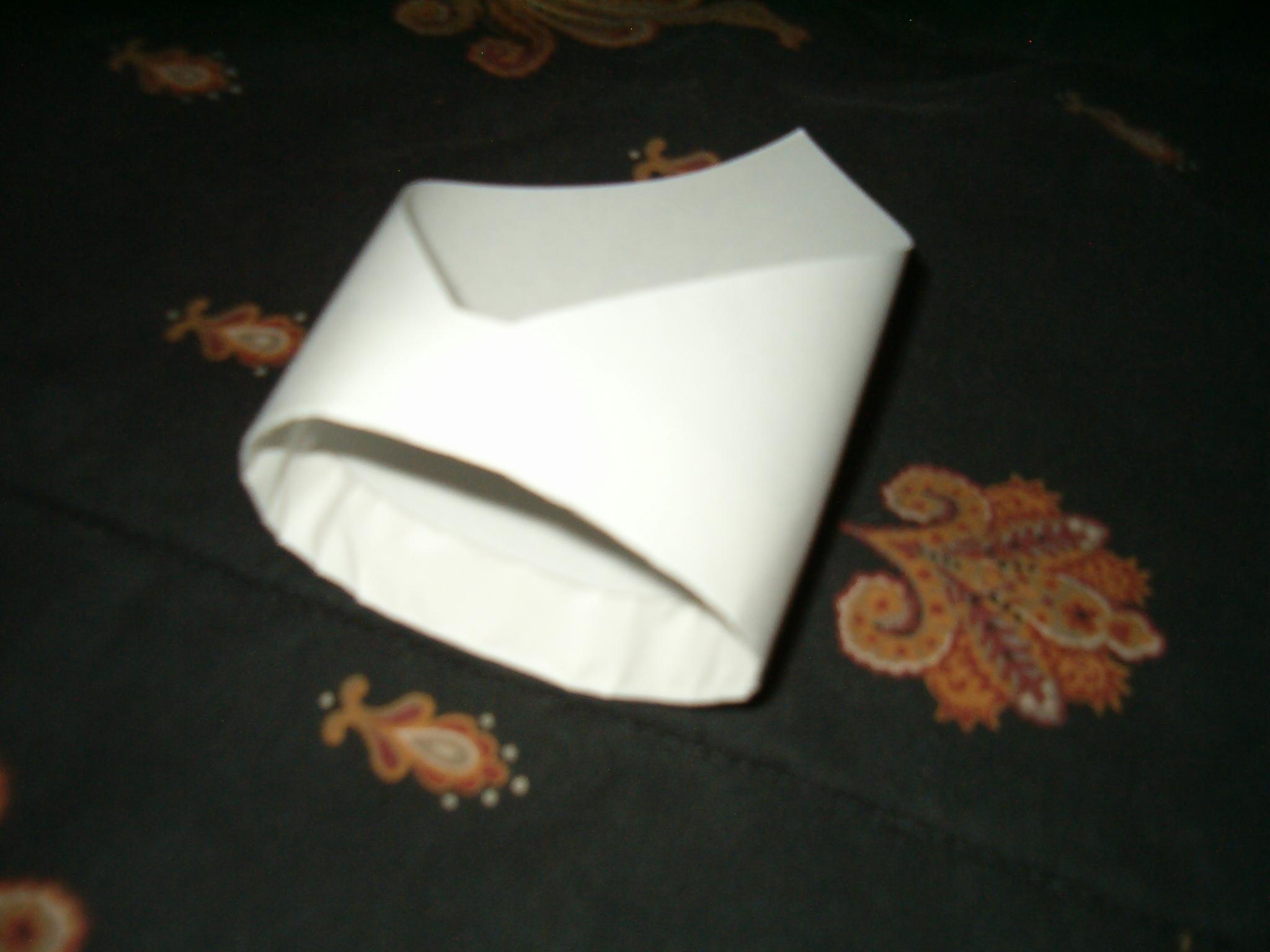 Tubular paper airplane