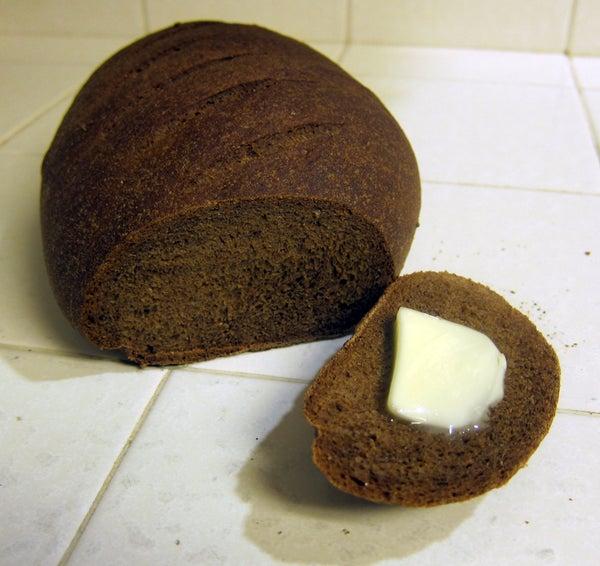 Thom's Pumpernickel Bread