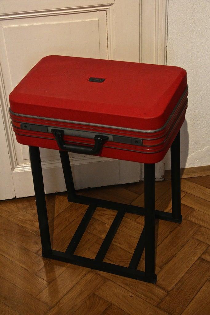 Easy Suitcase-Table DIY