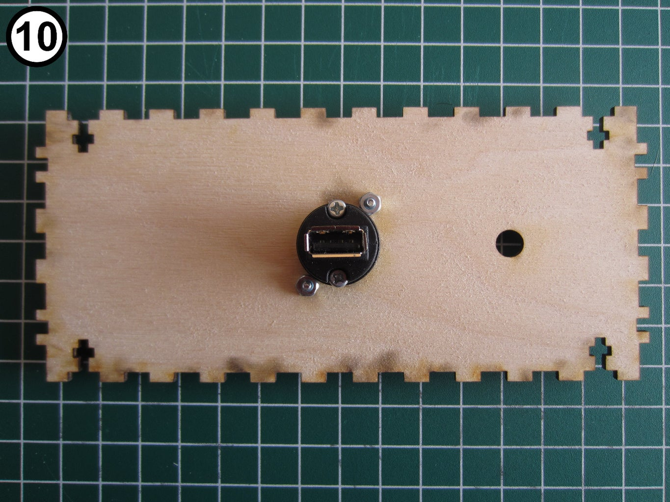 Prepare USB Power Connector and Attach It to the Case