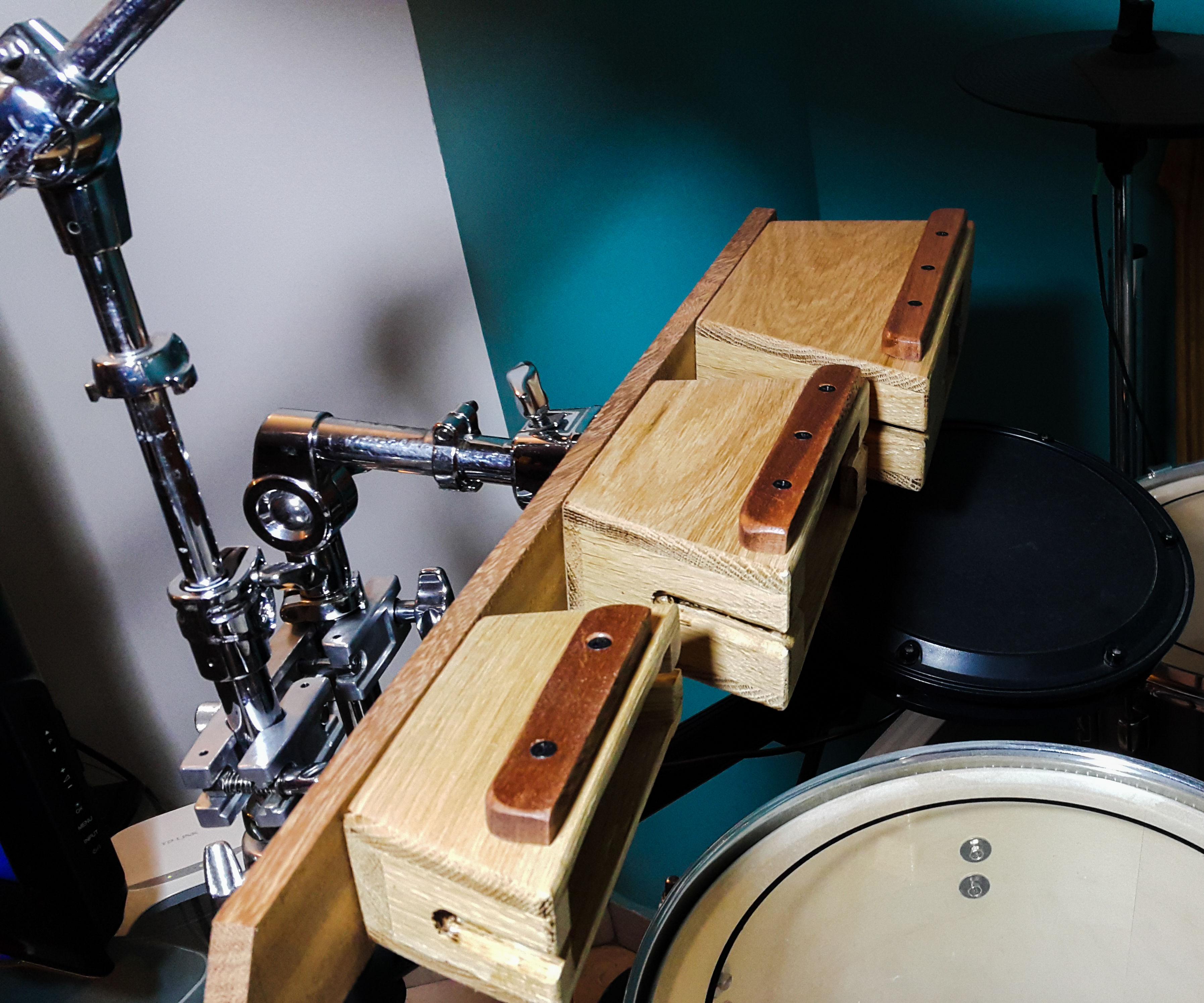 Wooden Percussion Blocks