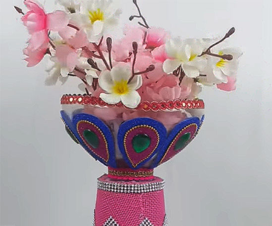 How to Make a Flower Vase Out of Plastic Bottle?
