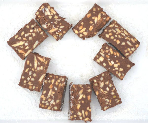 Peanut Almond Chocolate Protein Bites