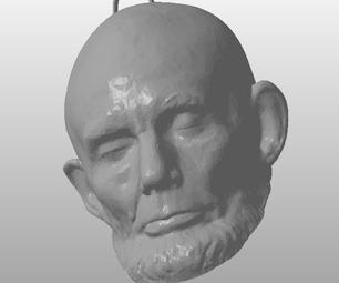 Abe Lincoln Ornament